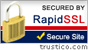 Secured By RapidSSL and Trustico